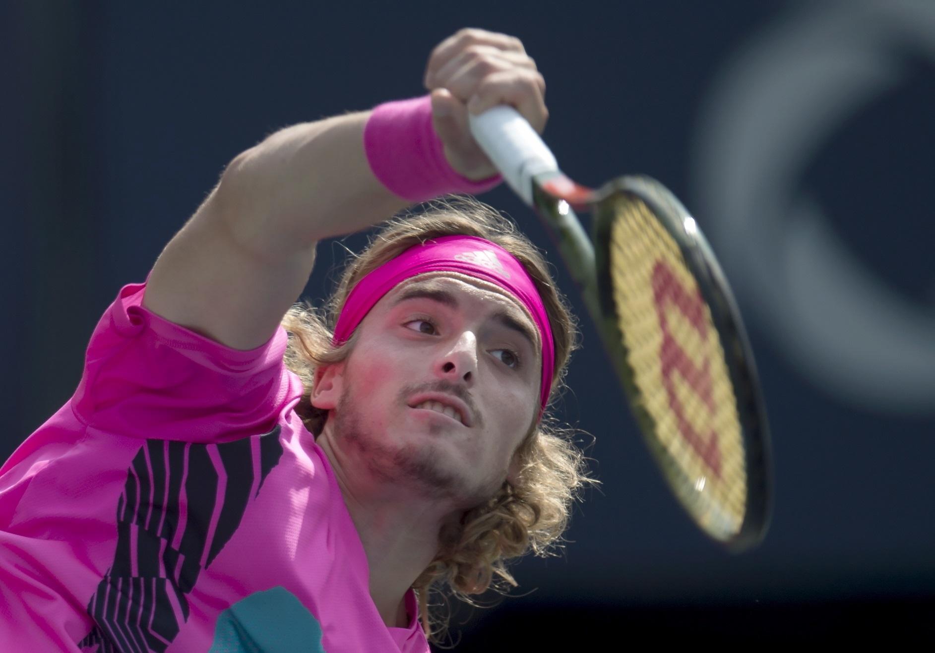Nove nade svetskog tenisa Cicipas-Beta-AP